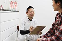 患者様との信頼関係を作るために、問診に力を入れております。